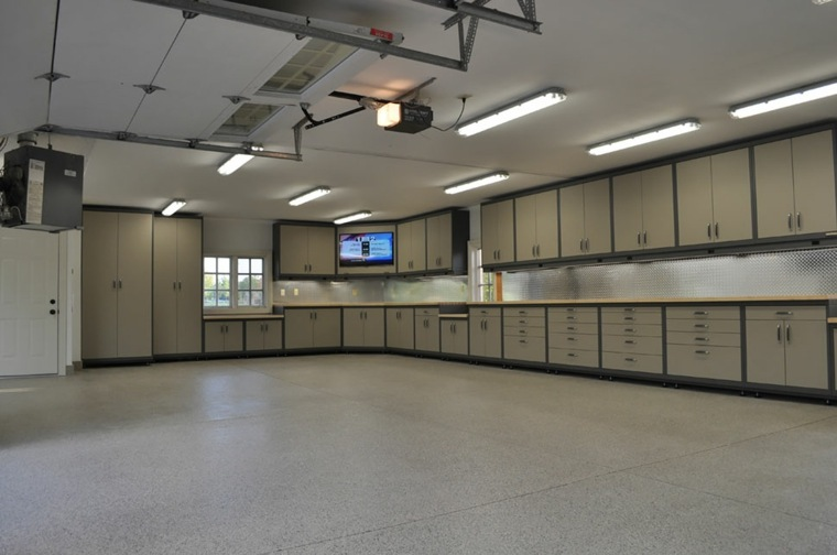 organizacion garaje consejos espacio muchos armarios ideas