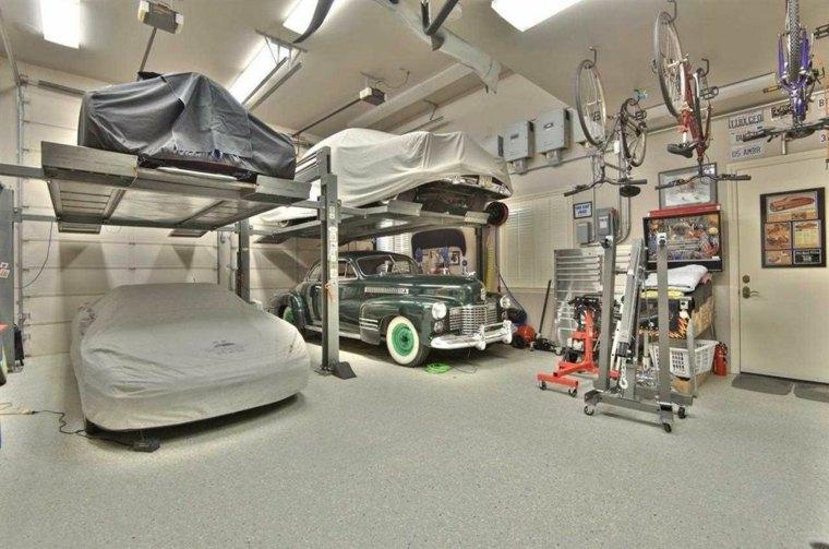 organizacion garaje consejos espacio opciones coches ideas