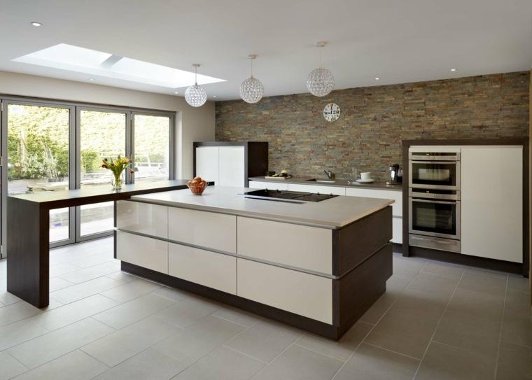 Cocinas minimalistas - 24 diseños de interiores ultramodernos -