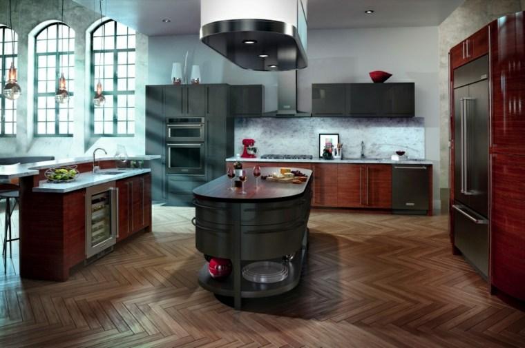 original diseño cocina madera