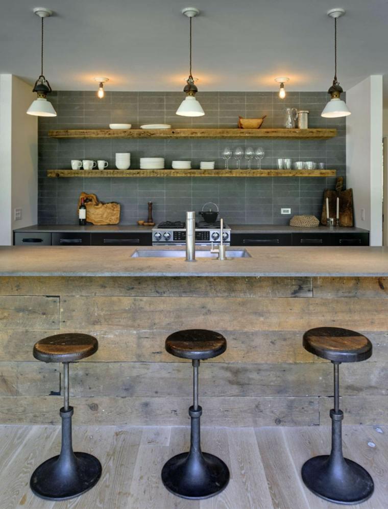 original diseño cocina bates masi Architects