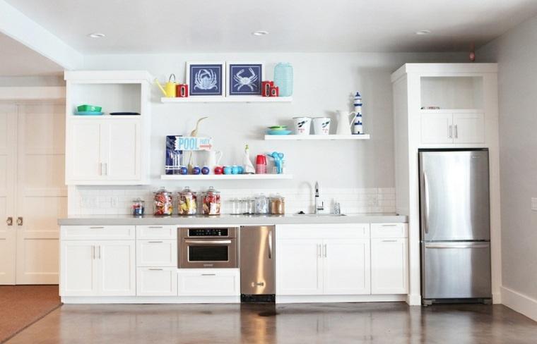 original diseño cocina estantes