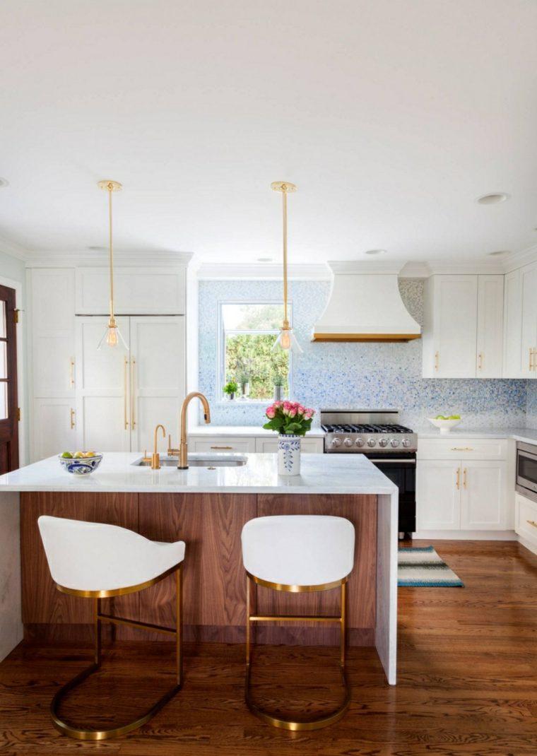 original diseño cocina blanco madera