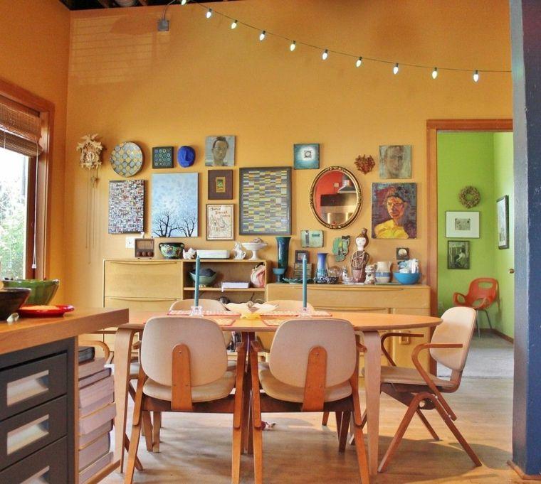 Decoracion salon comedor ideas para ahorrar espacio for Ideas decoracion salon comedor