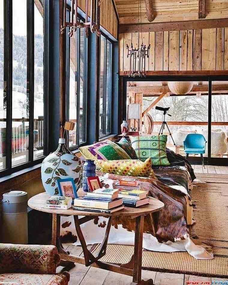 original salón ambiente madera