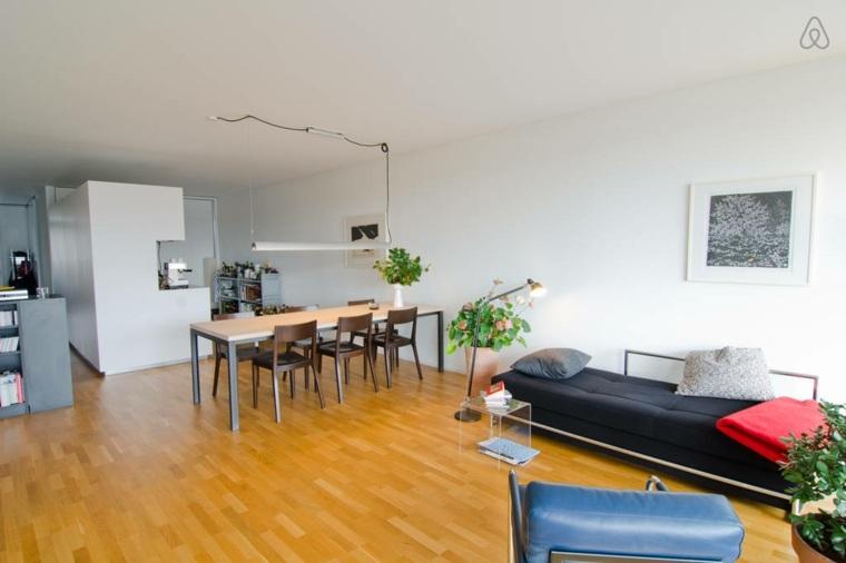 original diseno apartamento suelo madera