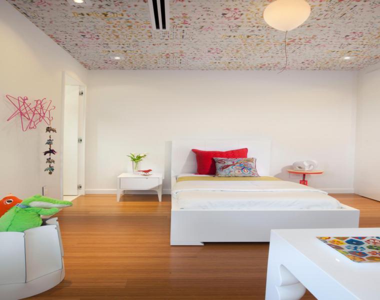 original habitación juvenil moderna