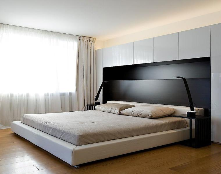 originales diseños habitaciones minimalistas