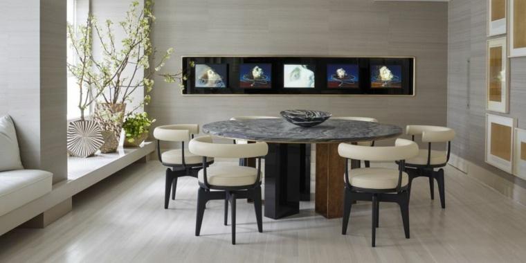 original comedor mesa redonda