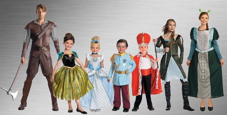 originales trajes disfraces familia
