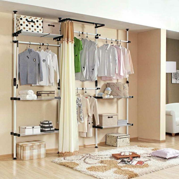 originales ideas armarios vestidores baratos