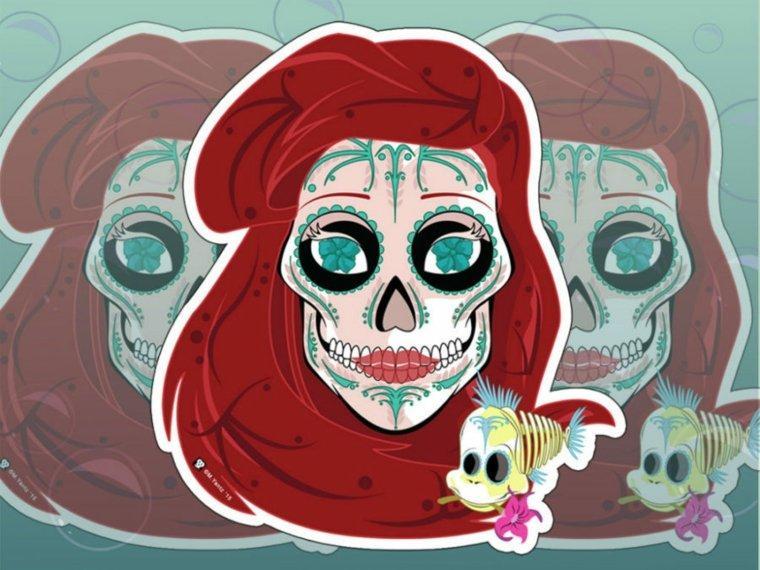 originales imagenes inspiradas esqueletos