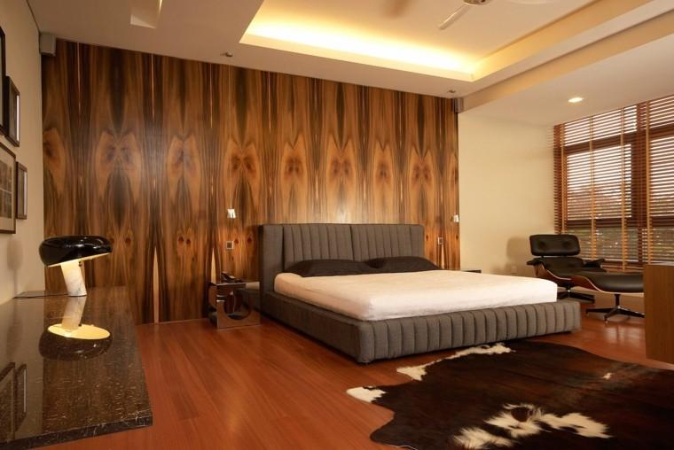 Paredes con madera para dormitorios - Dormitorios de madera ...