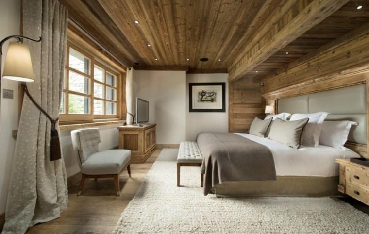 paredes con madera interiores