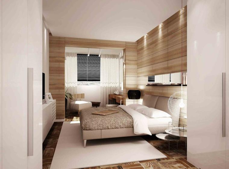 paredes con madera modernas