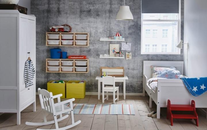paredes conceptos estantes estilos plasticos