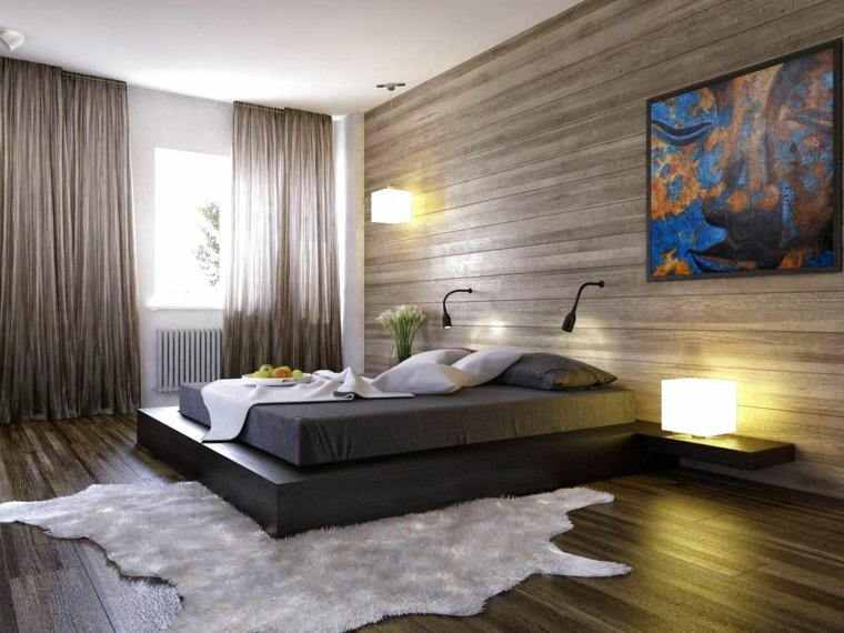 paredes de madera inteirores