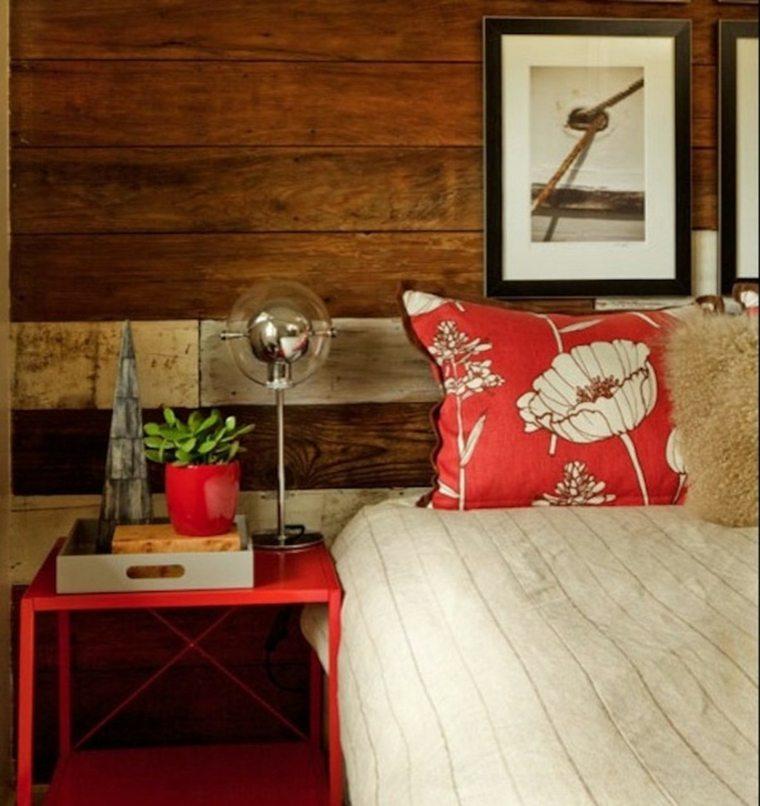 paredes en madera dormitorios