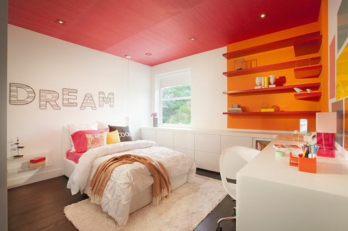 paredes naranja imagenes especiales sillas