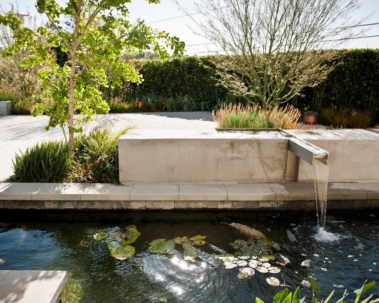 peces de agua dulce kio jardin ideas moderno