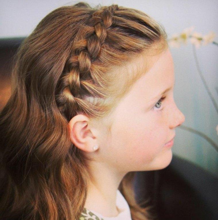 peinados de moda para niña otoño