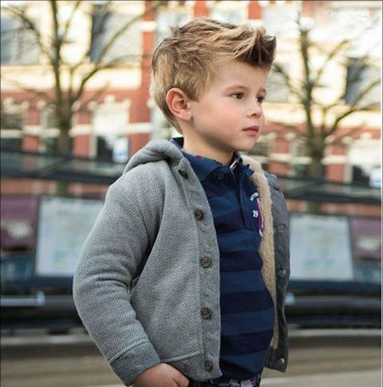 peinados de niños de moda otoño