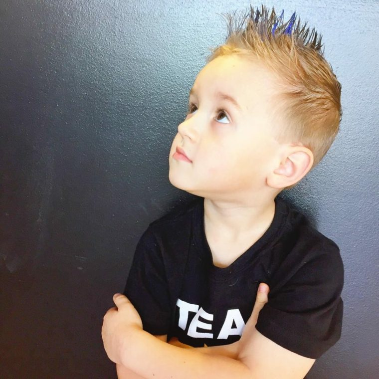 peinados de niños de moda