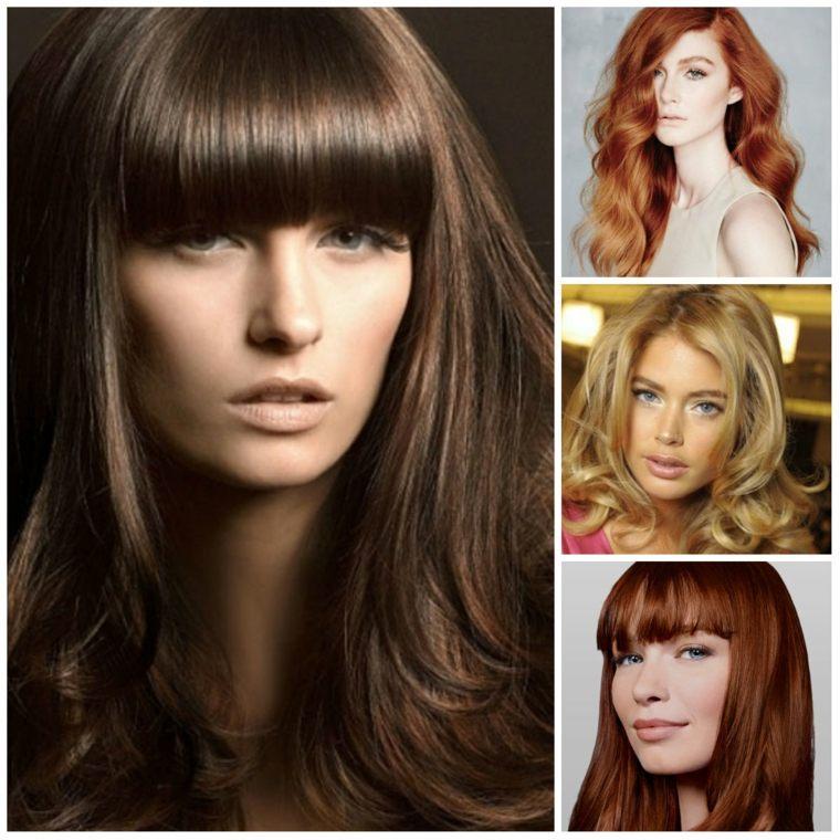 peinados elegantes colores originales