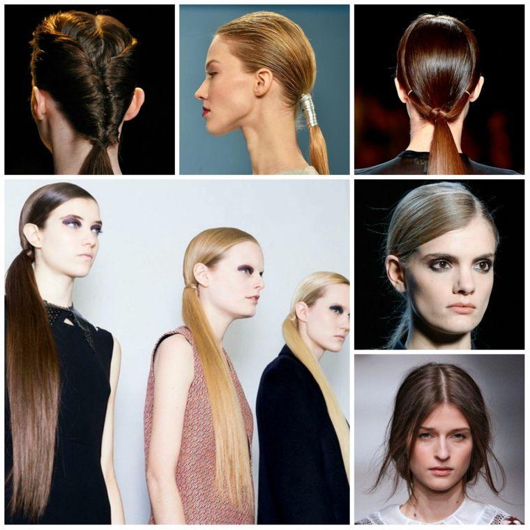peinados elegantes mujeres otoño