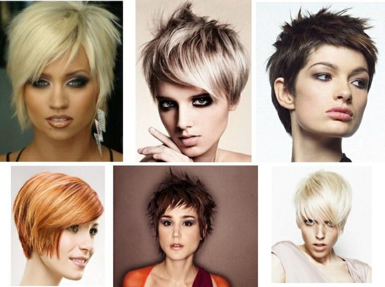 peinados elegantes para pelo corto otoño