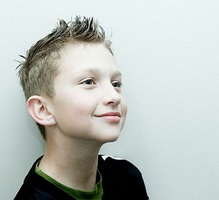 peinados modernos para niños pequeños