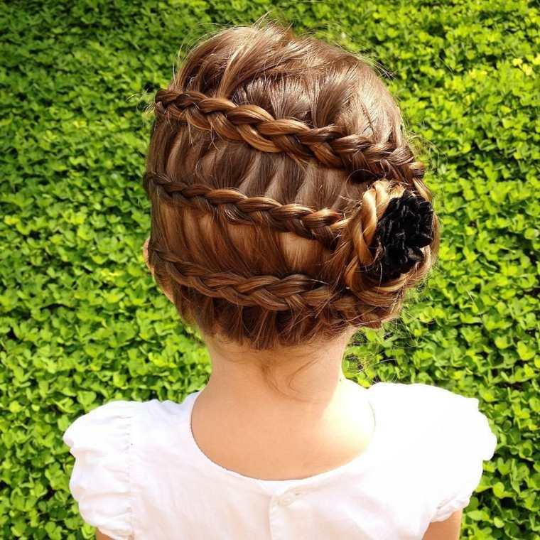 peinados para niñas pequeñas otoñales