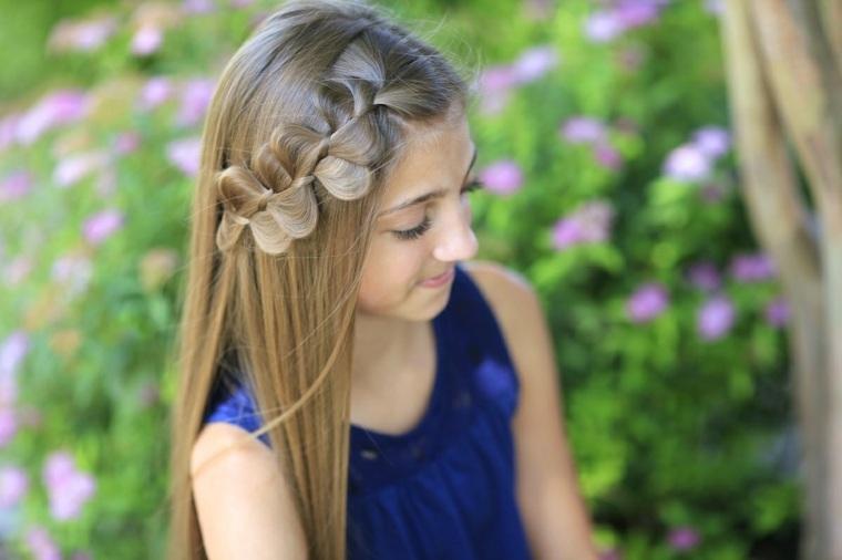peinados para niñas pequeñas otoño