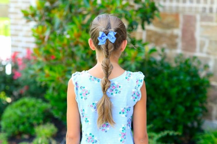 peinados para niñas pequeñas trenza