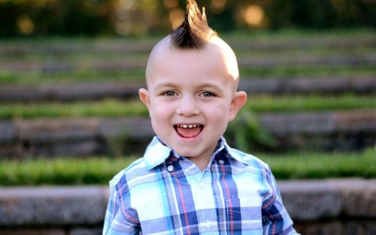 peinados para niños atrevidos