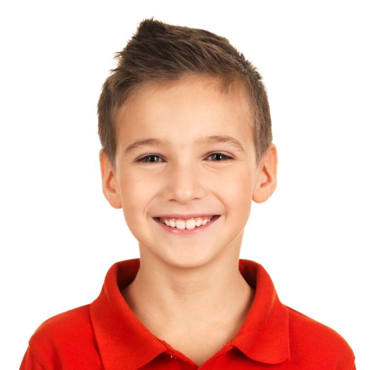 peinados para niños cortes pelo