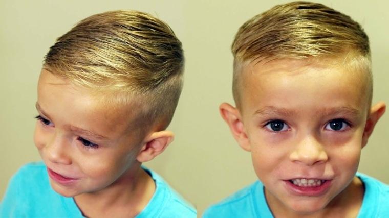 peinados para niños originales modernos