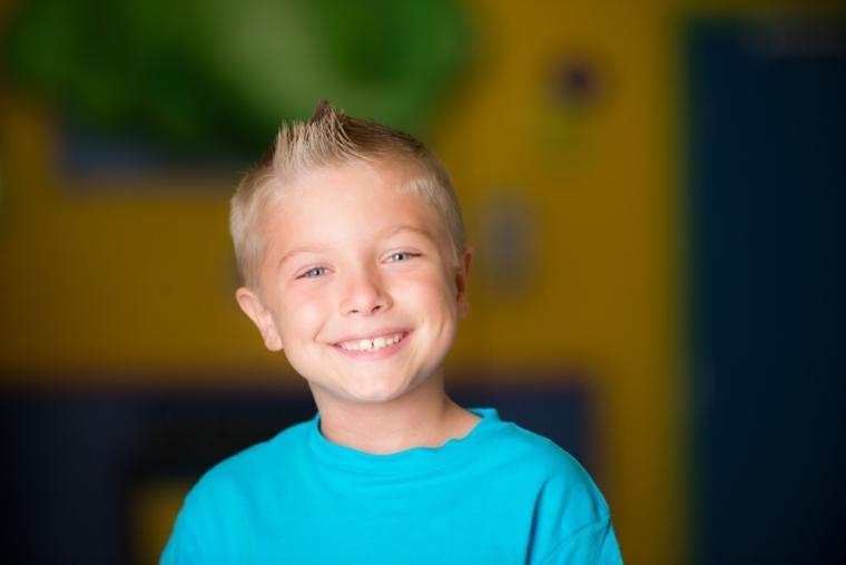 peinados para niños pelo corto