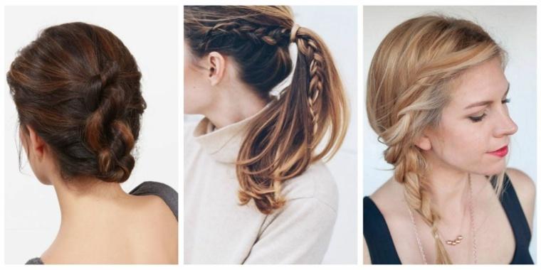 peinados sencillos y elegantes otoo