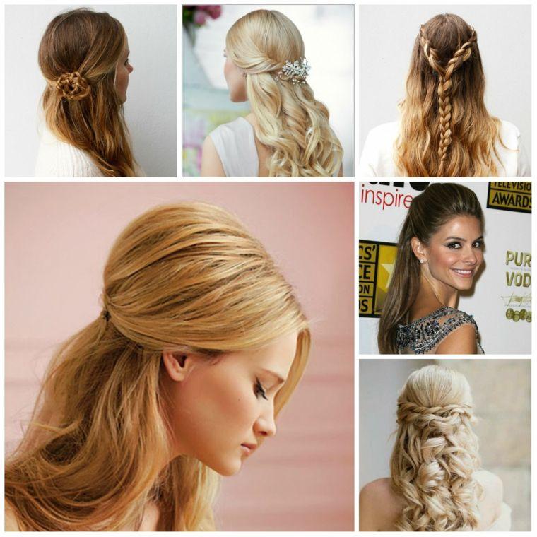 peinados sencillos y elegantes
