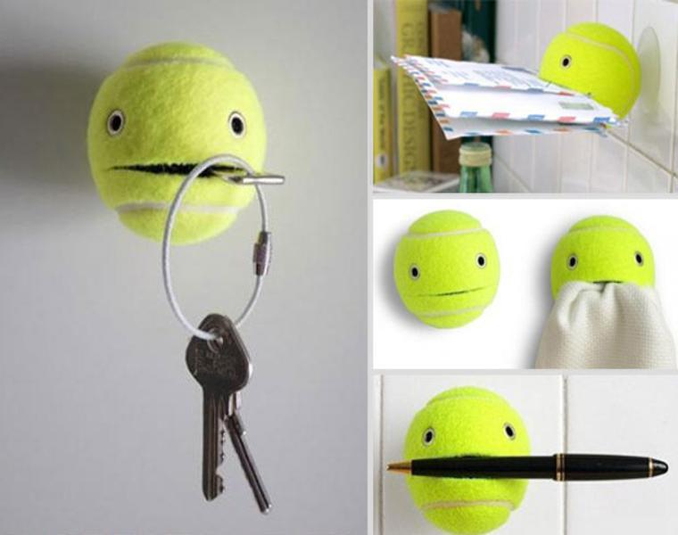 pelota tenis originales ideas deco