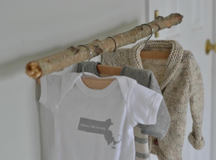 perchero original ropa mdoerna