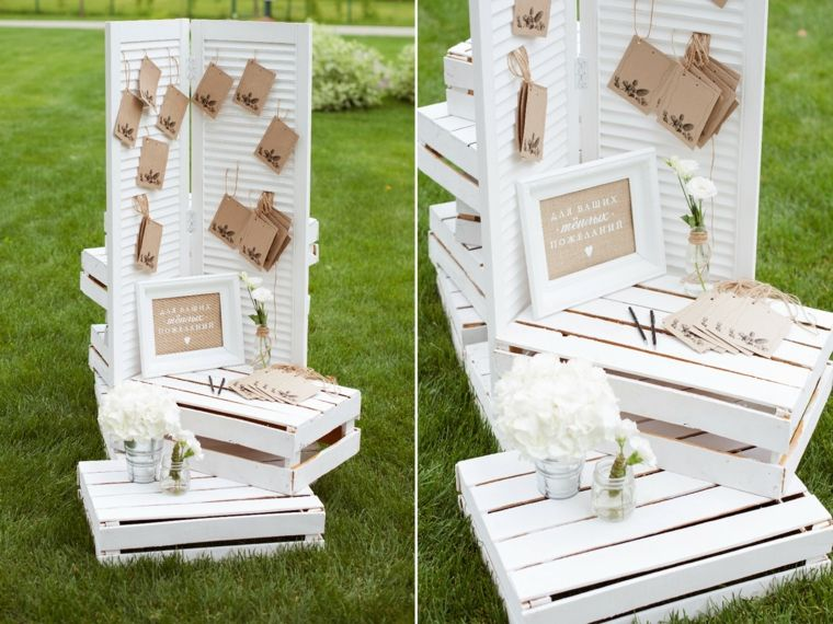 photocall para bodas bonito blanco ideas