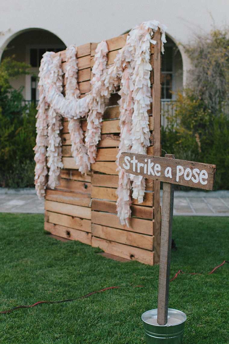 photocall para bodas diseno madera palet ideas