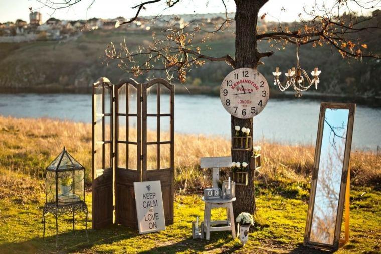 photocall para bodas exterior diseno ideas