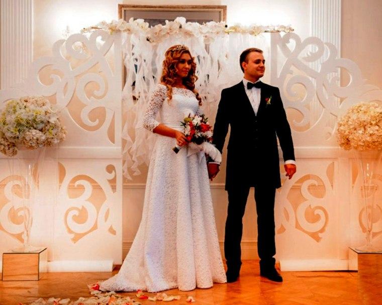 photocall para bodas madera acabados blanco ideas