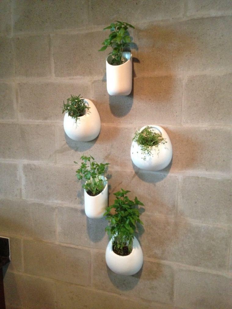 Hanging Indoor Herb Garden