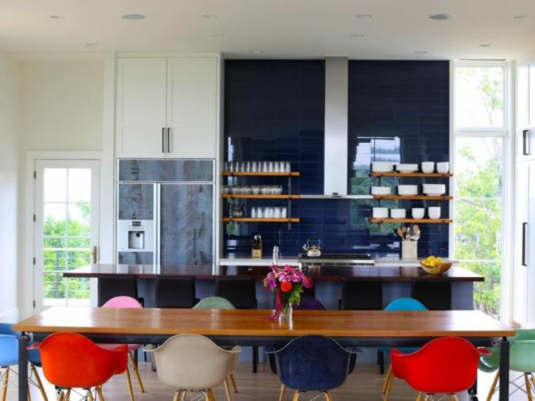proteger paredes la cocina moderna