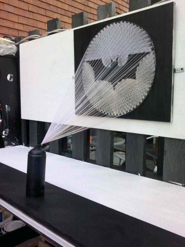 proyector batman telaranas hilos
