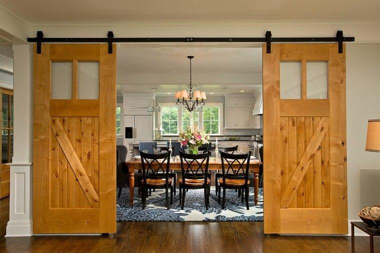 puertas corredera especiales interiores alfombras
